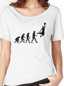 Evolution of Basketball Women's Relaxed Fit T-Shirt