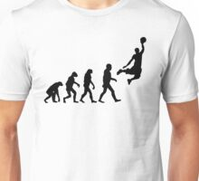 Evolution of Basketball Unisex T-Shirt