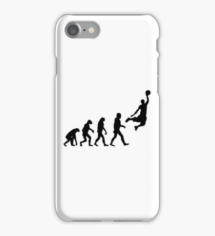 Evolution of Basketball iPhone Case/Skin