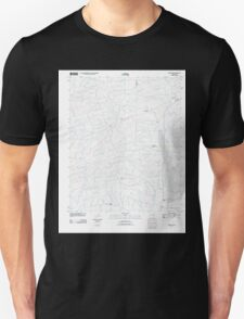 USGS TOPO Map Arkansas AR Newhope 20110718 TM Unisex T-Shirt