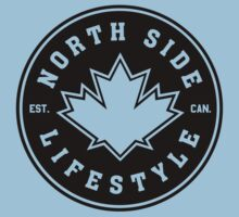 NSL Canada Black Leaf Crest by northsidelife