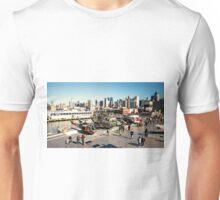 Chopper Cityscape  Unisex T-Shirt