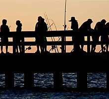 Fishing Friends by phil decocco