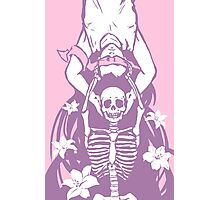Life and Death in Pink Photographic Print