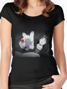 Uchiha Itachi : Bagues Women's Fitted Scoop T-Shirt