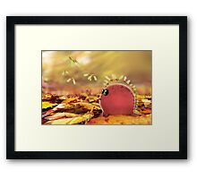 Autumn dino helicopters.  Framed Print