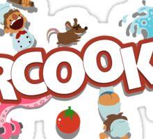 Overcooked Sticker