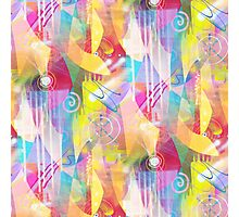 Painted Chaos Photographic Print