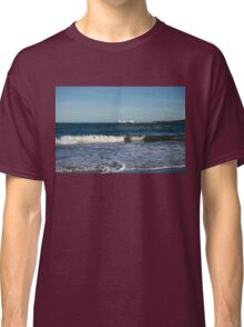 Your Viking Ride - NorthLink Ferry Leaving Aberdeen Harbour Classic T-Shirt