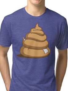 Chocolate Cone of Blah-Blah Tri-blend T-Shirt