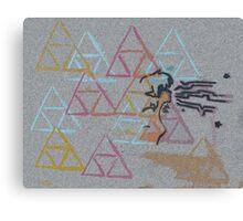 Triforce Echoes  Canvas Print