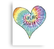 I Heart Lucas Scott - One Tree Hill Canvas Print