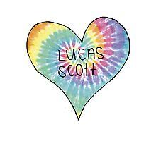 I Heart Lucas Scott - One Tree Hill Photographic Print