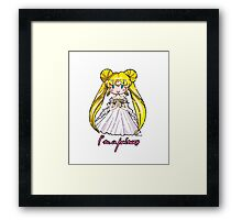 Sailor Moon - Princess Serenity Framed Print
