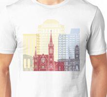 Colorado Springs skyline poster Unisex T-Shirt