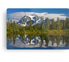 Mt. Shuksan Reflection Metal Print