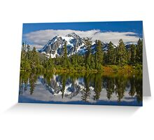 Mt. Shuksan Reflection Greeting Card