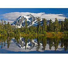 Mt. Shuksan Reflection Photographic Print