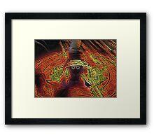 Incendium Waltz Framed Print