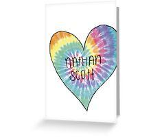 I Heart Nathan Scott - One Tree Hill Greeting Card