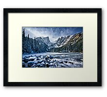 Dream Lake Pano Framed Print
