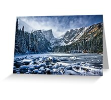 Dream Lake Pano Greeting Card