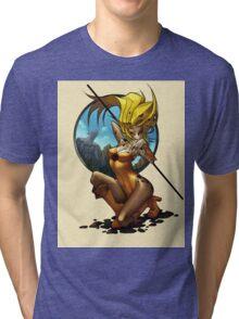 Cheetara Anime Tri-blend T-Shirt