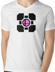 Smash Companion w/ Black Mens V-Neck T-Shirt