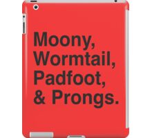 The Marauders iPad Case/Skin