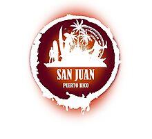Nice Evening San Juan Photographic Print