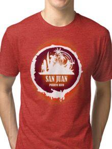 Nice Evening San Juan Tri-blend T-Shirt