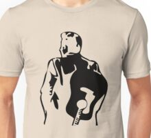 man the legend with guitar silhouette Unisex T-Shirt