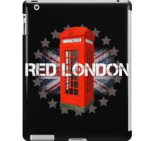 Red London Phone Booth iPad Case/Skin