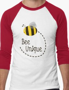 Bee Unique Men's Baseball ¾ T-Shirt