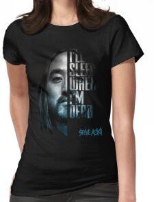 Steve Aoki - shirt  Womens Fitted T-Shirt
