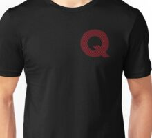 Q Red Lines Unisex T-Shirt