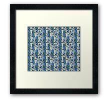 Blue Ice... Duvet  and More Framed Print