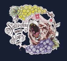 Saturday Night Slapz Logo One Piece - Short Sleeve