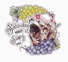 Saturday Night Slapz Logo Kids Clothes