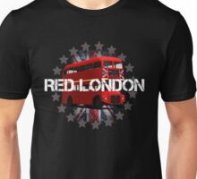 Red London Bus Unisex T-Shirt