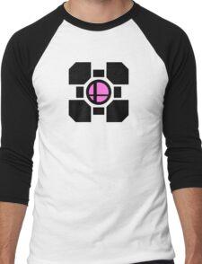 Smash Companion w/ Black Men's Baseball ¾ T-Shirt