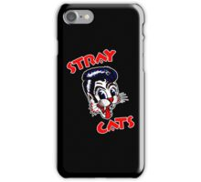 """STRAY CATS """"RED"""" iPhone Case/Skin"""