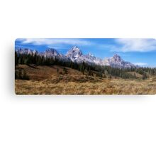 Grand Tetons - Mountains of the West Metal Print