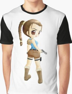 Lara Croft Tomb Raider Graphic T-Shirt
