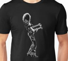 rock and roll legend double guitar Unisex T-Shirt