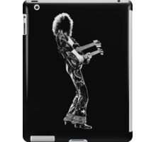 rock and roll legend double guitar iPad Case/Skin