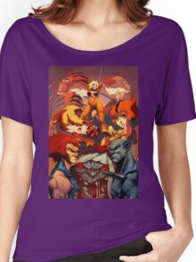 Fire Thundercats Women's Relaxed Fit T-Shirt