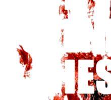 The Walking Dead - If Glenn Dies We Riot Sticker