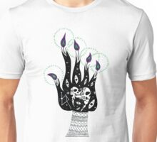 Witch Hand fire Unisex T-Shirt