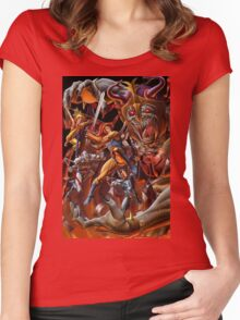 Battle Thundercats Women's Fitted Scoop T-Shirt